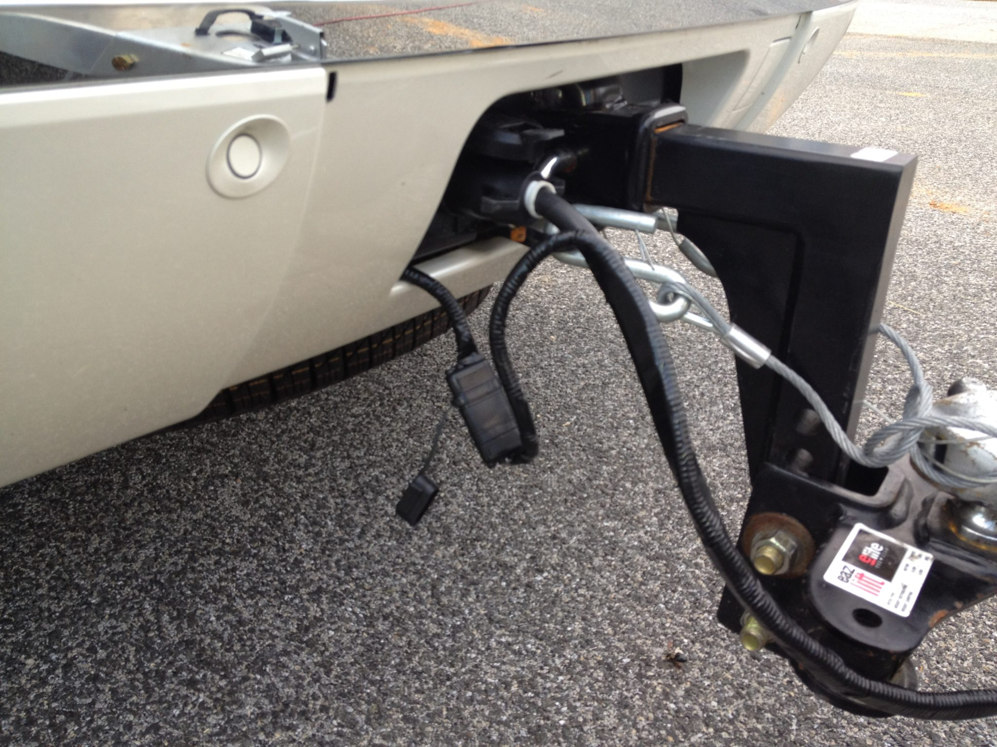 Backup Camera Wiring On A Trailer