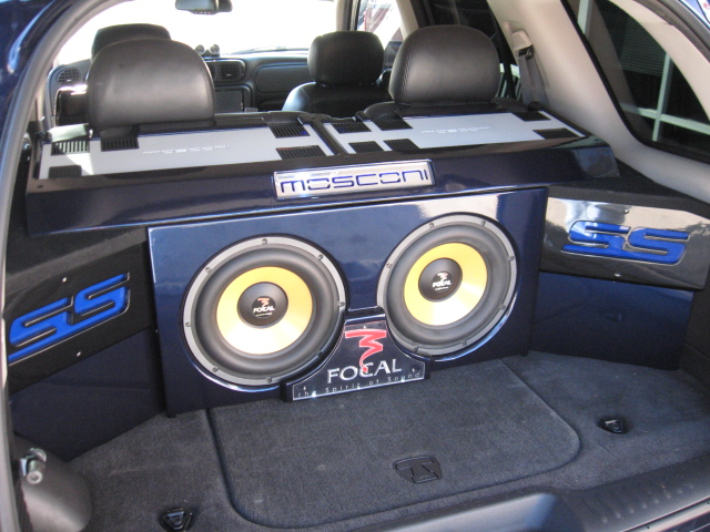 Mosconi Amp + Focal Subwoofer