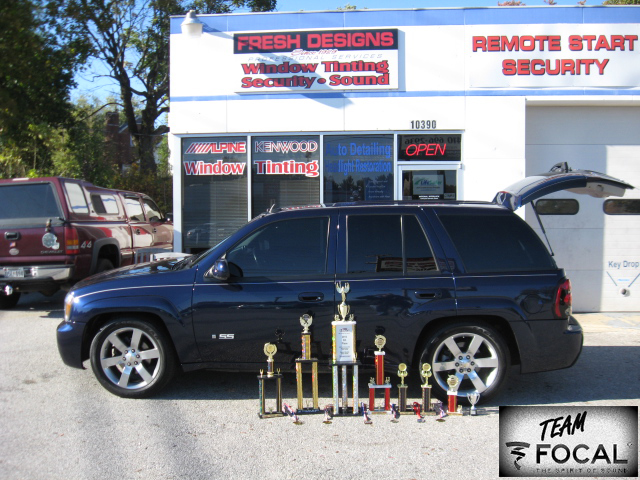 2013 Car Audio National Championship Throphies