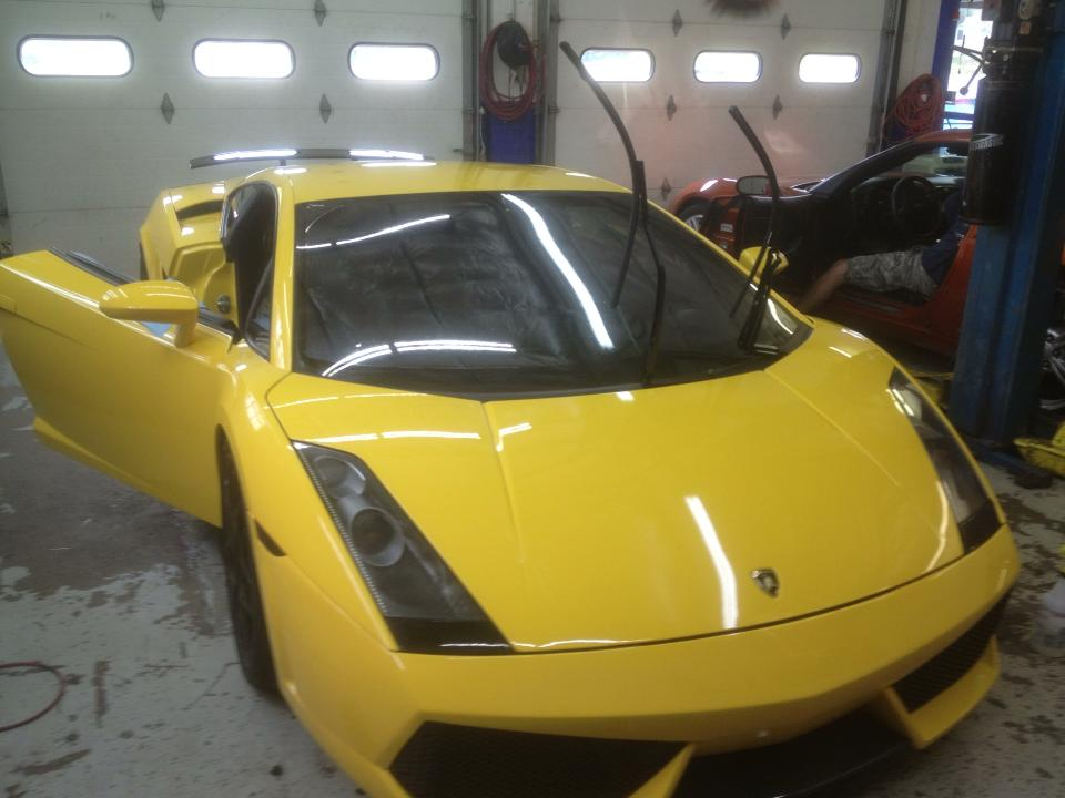 Window Tinting On Gallardo