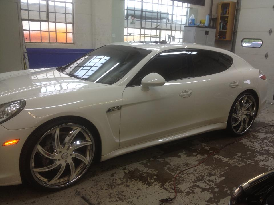 Window Tinting On Panemera