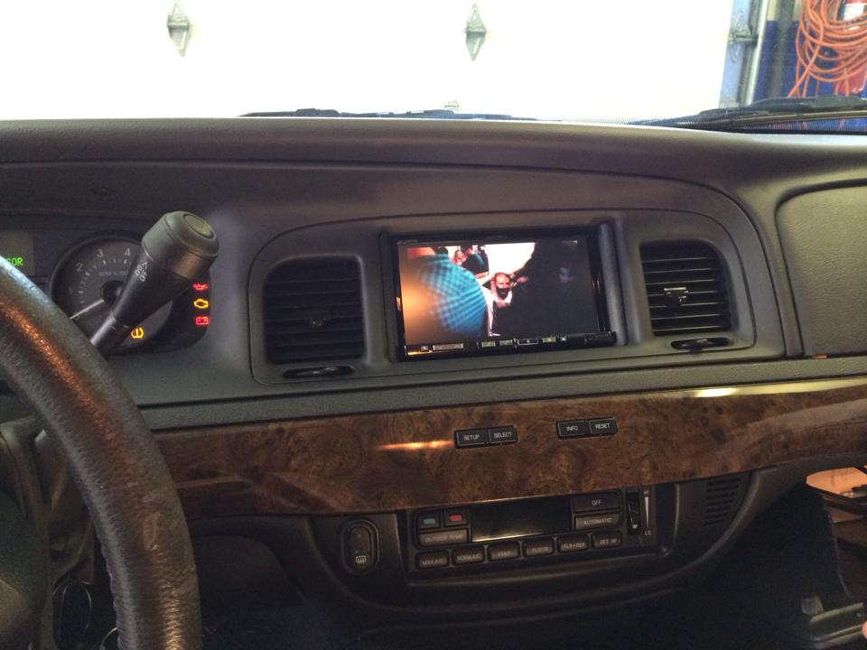 Double Din Alpine In Grand Marquis