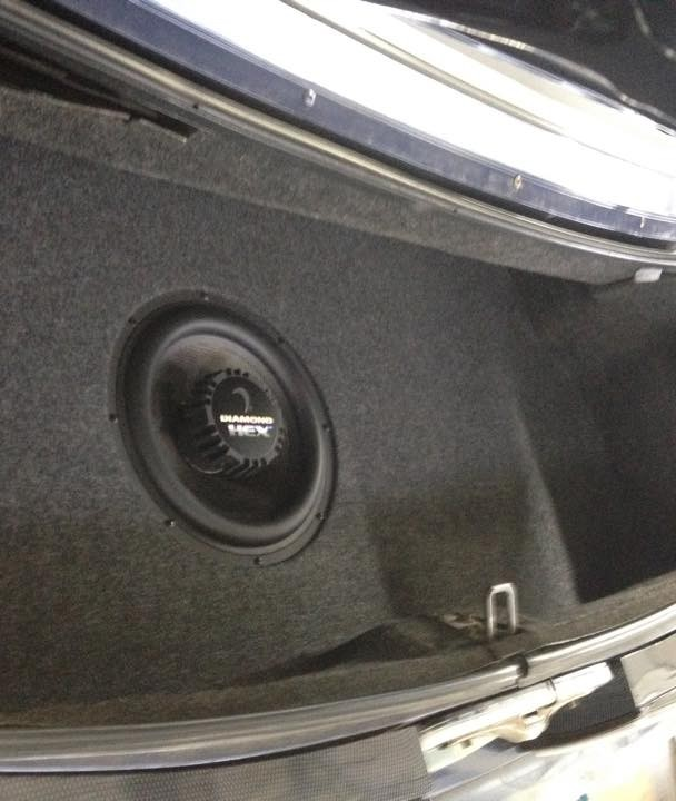 Mustang GT Trunk w/ Sound Deadening