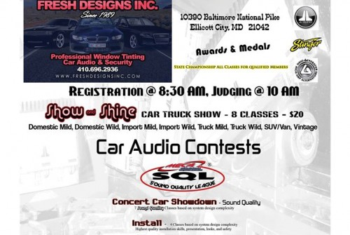 Car/Truck Show & Sound Off & Sale – July 26 2015 – Be Square