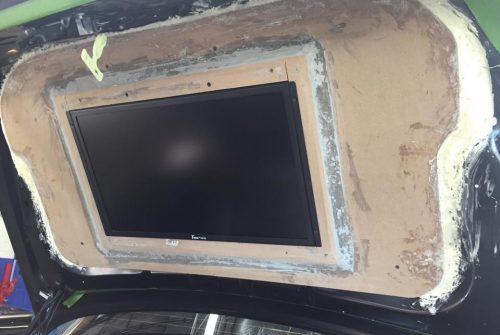 Flat Screen Install in Trunk Lid