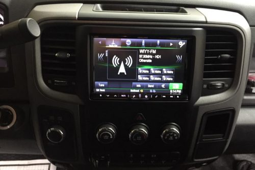 Alpine X008 Navigation System in 15 Ram 5500