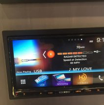 New RL System in Kenwood Display