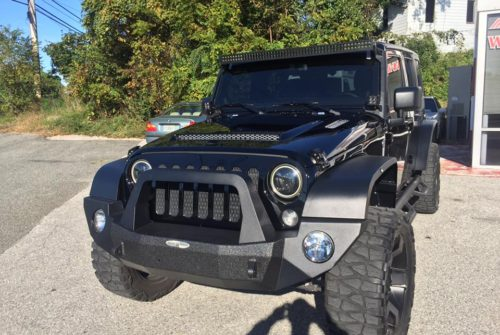 Wrangler Unlimited New Hood and Fenders
